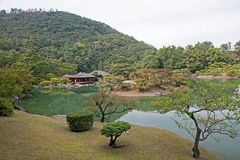 Japanese Garden in Takamatsu - Japan stock photo