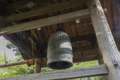 Free Japanese Garden Temple Bell Stock Image - 145884461