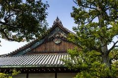 Japanese garden, view of Japanese stone garden,  Stock Photography