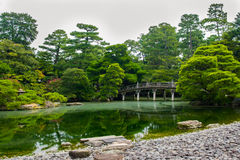 Japanese gardens, Kyoto, Japan Stock Photography