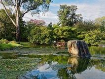 Japanese Gardens Stock Photo