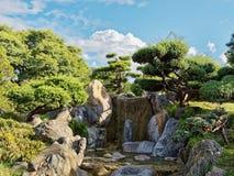 Japanese Gardens Stock Photos
