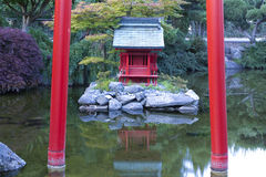 Japanese Gardens in Tacoma. Stock Photos