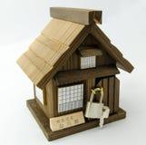 Japanese Gassho house coinbox Royalty Free Stock Photos