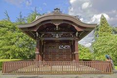 Japanese Gateway in Kew gardens in London Stock Images