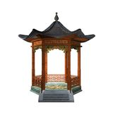 Japanese gazebo Royalty Free Stock Image