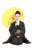 Japanese geisha Stock Photo