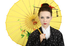 Japanese geisha Stock Images