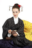 Japanese geisha Royalty Free Stock Photos