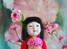 Japanese, Geisha.doll. Stock Photo