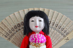 Japanese, Geisha.doll. Royalty Free Stock Photography