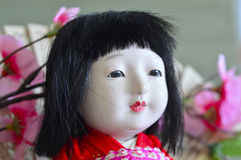 Japanese, Geisha.doll. Royalty Free Stock Images