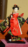 Japanese geisha doll Royalty Free Stock Photos