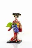 Japanese geisha dolls. Stock Images
