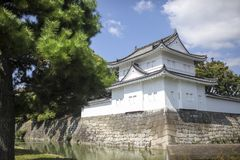 Japanese general castle. A traditional Japanese general castle Royalty Free Stock Photos