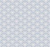 Japanese geometric seamless pattern Stock Photo