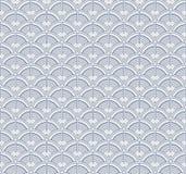 Japanese geometric seamless pattern Royalty Free Stock Photography