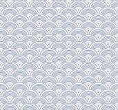 Japanese geometric seamless pattern Royalty Free Stock Images