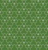 Japanese geometric seamless pattern Royalty Free Stock Photos