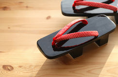 Japanese Geta Sandal Stock Image