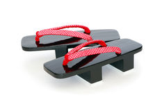 Japanese Geta Sandals Royalty Free Stock Photography