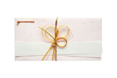 Japanese gift envelope Stock Images