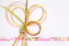 Japanese gift envelope Royalty Free Stock Images