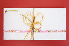 Japanese gift envelope Stock Photo