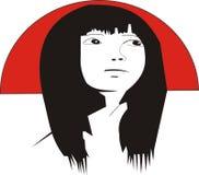 Japanese girl Stock Image
