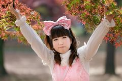 Japanese girl Stock Photography