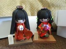 Japanese girl doll Stock Photos