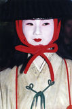 Japanese girl dressed in costume and makeup Stock Photography