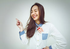 Japanese girl Royalty Free Stock Photography