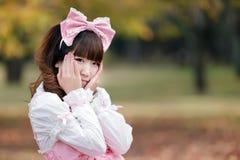 Japanese girl fashion Royalty Free Stock Photography