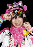 Japanese girl poses in Cosplay outfit in Tokyo Royalty Free Stock Photo