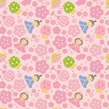 Japanese Girls' Festival background Royalty Free Stock Image
