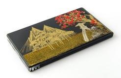 Japanese Gold Lacquerware Stock Photo