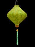 Japanese green lampshade Stock Photo