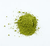 Japanese green matcha Stock Photography