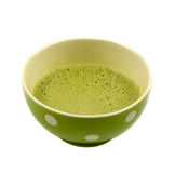 Japanese green matcha ready to drink Royalty Free Stock Image