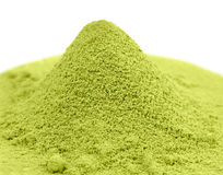 Japanese green  powder matcha tea Royalty Free Stock Photo