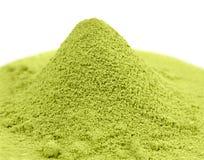 Japanese green  powder matcha tea Royalty Free Stock Photo