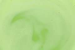 Japanese green tea and milk texture. Background Stock Images