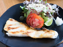 Japanese Grilled Cod Fish Stock Photos