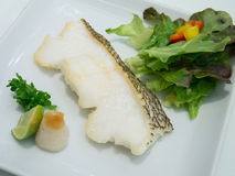 Japanese Grilled Cod Fish Stock Images