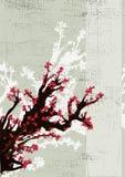 Japanese grunge background Stock Image