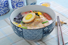 Japanese Hand-Pulled Noodle Stock Photos