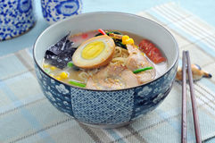Japanese Hand-Pulled Noodle Royalty Free Stock Photo