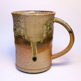 Japanese handmade pottery merchandise from Tokoname. Royalty Free Stock Images