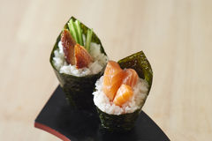 Japanese Handroll Stock Photography